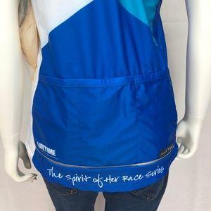 38146b35652a3 moxie Tops - New Moxie Blue Cycling Tank Top XXL